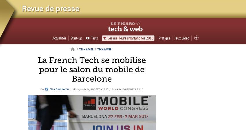 Les French tech au MWC