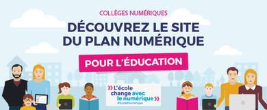 Plan numérique pour l'éducation