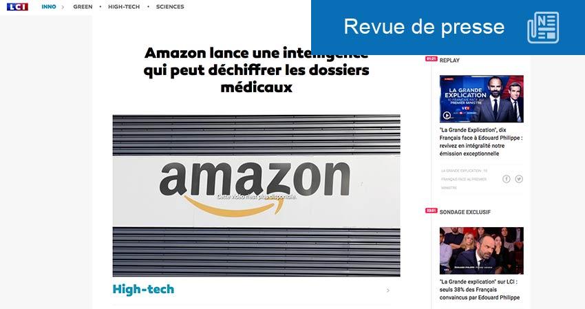 E-santé et Amazon
