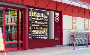 Distribution automatique magasin