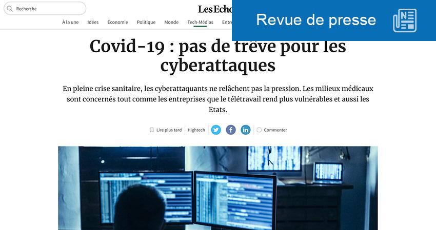 Covid-19 : cyberattaques